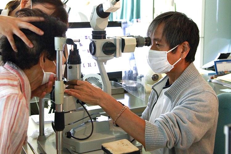 内匠眼科の業務