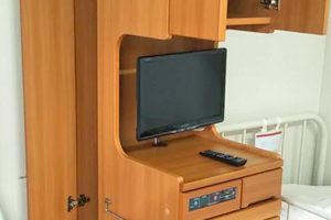 入院設備 個人用テレビ
